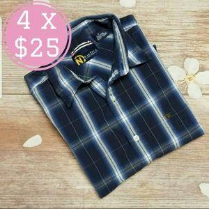 Nautica jeans & co. Plaid button down shirt
